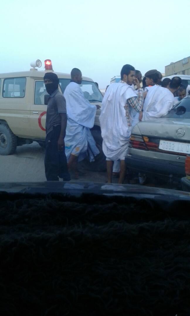 صورة حادث سير مروع وسط العاصمة (صور)