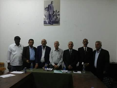 صورة حضور مورتاني لمؤتمر لحل الأزمة الليبية