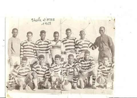 صورة صورة لأقدم فريق كرة قدم مورتاني 1958م