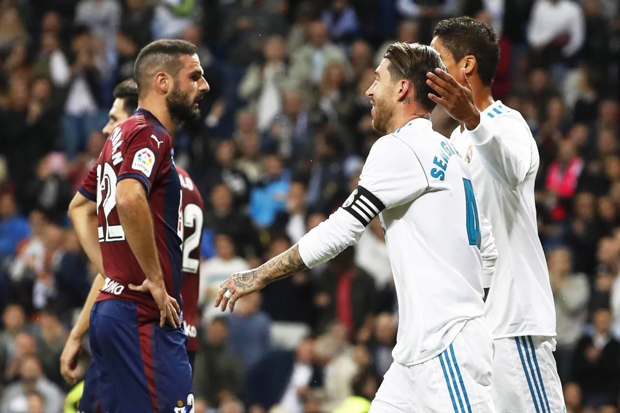 صورة ريال مدريد يفوز على ايبار بثلاثية نظيفة