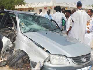 صورة حادث سير مؤلم يخلف مصابين تفاصيل