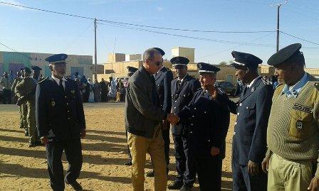 صورة الإدارة الجهوية للأمن بلبراكنة تخلد العيد العربي للشرطة