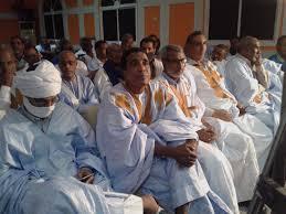 صورة بيان من الناصريين المورتانيين