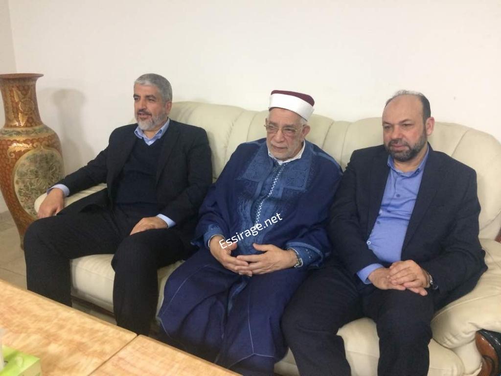 صورة خالد مشعل يصل انواكشوط مع وفود من دول أخرى(أسماء)