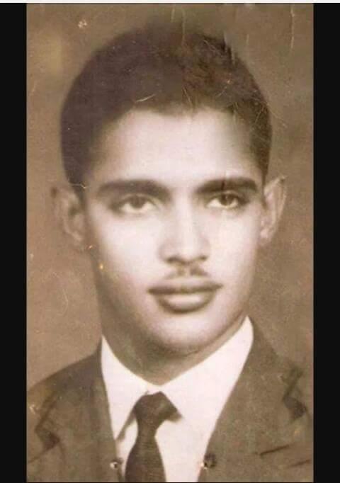صورة صورنادرة لأحد أبرز السياسيين المورتانيين