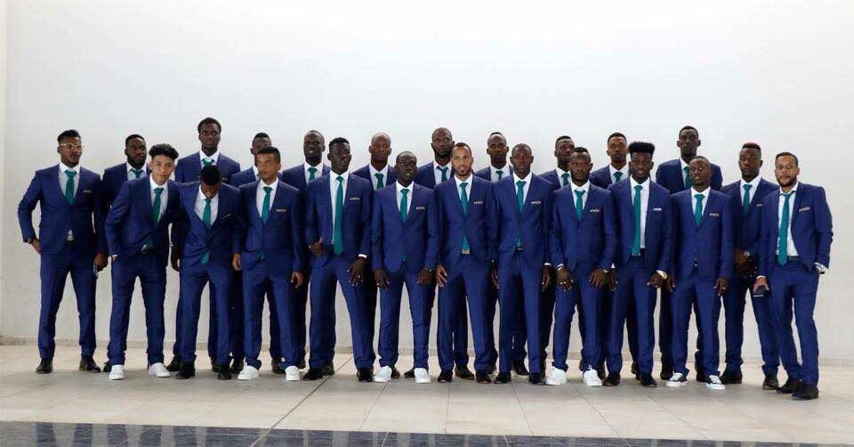 صورة المنتخب الوطني للناشئين يصل الى المغرب