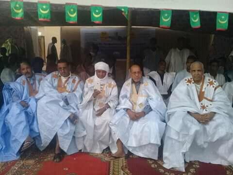 صورة ولدإياهي يقيم أمسية سياسية للمطالبة بمأمورية ثالثة(صور)