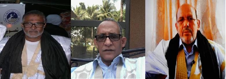 صورة رئيس حملة المليون توقيع مرشحا للائحة الوطنية وآخرون من حلف ولد المختار النش