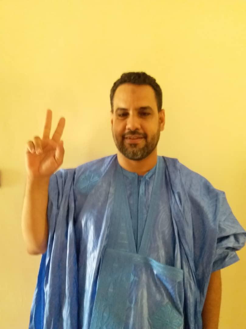 صورة بتصويتكم للدكتور: برار ولد تارو تضعون قدما للإخلاص والوطنية والصدق في البرلمان القادم