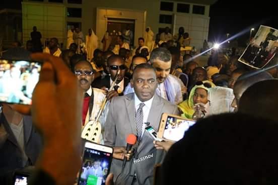 صورة المرشح بيرام: يعلق على ترشيح ولد الغزواني (تدوينة)
