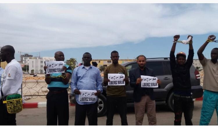 صورة عاجل: إعتقلات في صفوف الشباب المتظاهرين ضد سجن النائب بيرام