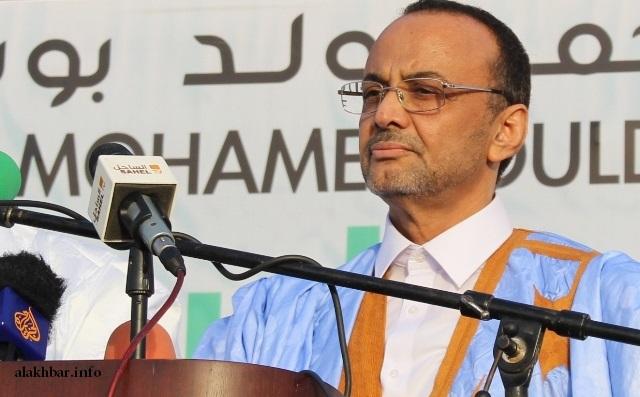 صورة المرشح سيد محمد ولد بوبكر يصدر بيانا للشعب الموريتاني (نص البيان)