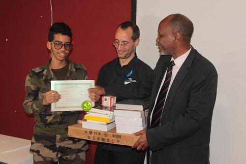 صورة الاعلان عن الفائزين بجائزة يحي ولد حامدن (أسماء)