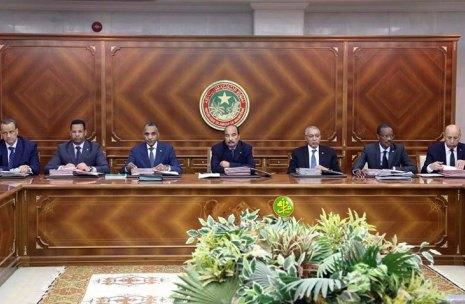 صورة إجتماع مجلس الوزراء…..