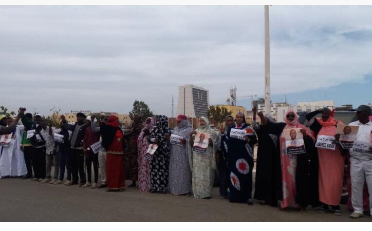 صورة نساء إيرا يخلدن عيد المرأة بتقرير عن نضالهن (فيديو)