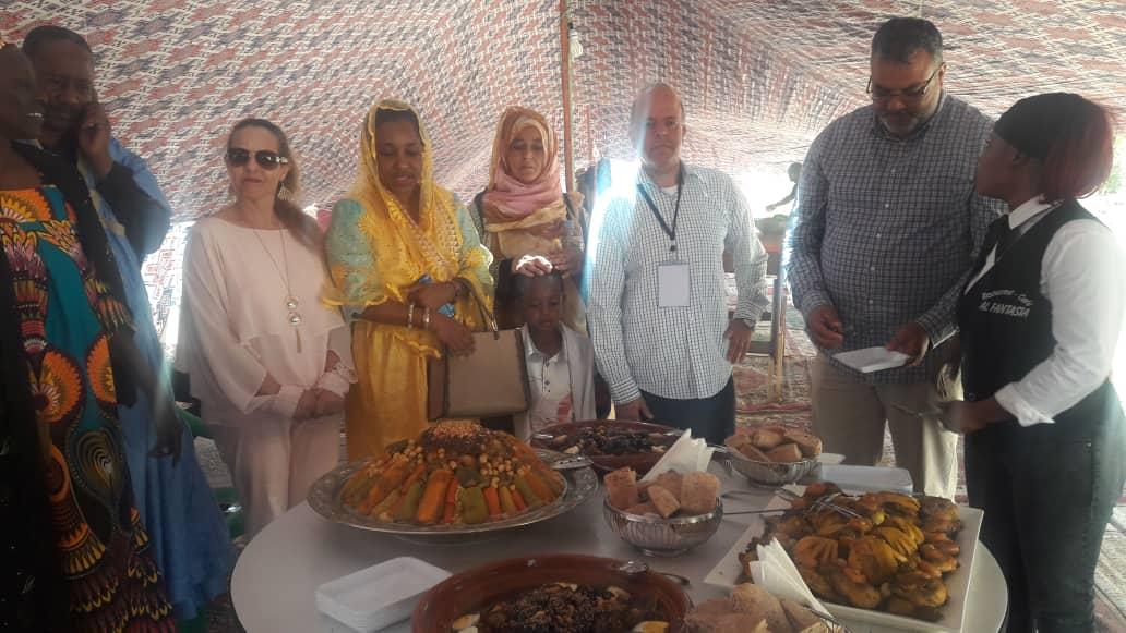 صورة المركز الثقافي المغربي يشارك فى المهرجان الذي نظمته الجمعية المتعددة الثقافات (صور)