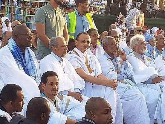 صورة ملخص لخطاب  ولد مولود في إعلان ترشحه (صور)