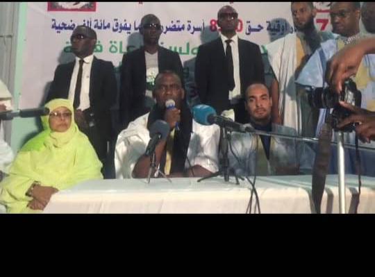صورة المرشح بيرام لدائني الشيخ الرضى : أنتم الأقرب إلي حتى تقضى ديونكم(تفاصيل)