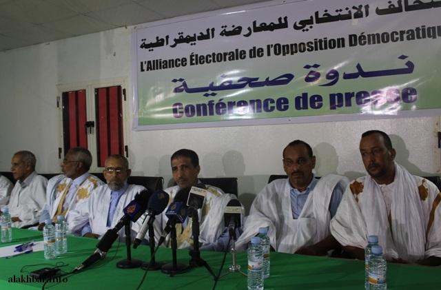 صورة المعارضة تلوح بمقاطعة الانتخابات الرئاسية (تفاصيل)