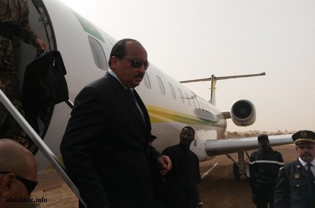 صورة ولد عبد العزيز يقرر زيارة مدن بالداخل الموريتاني  (برنامج الزيارة )