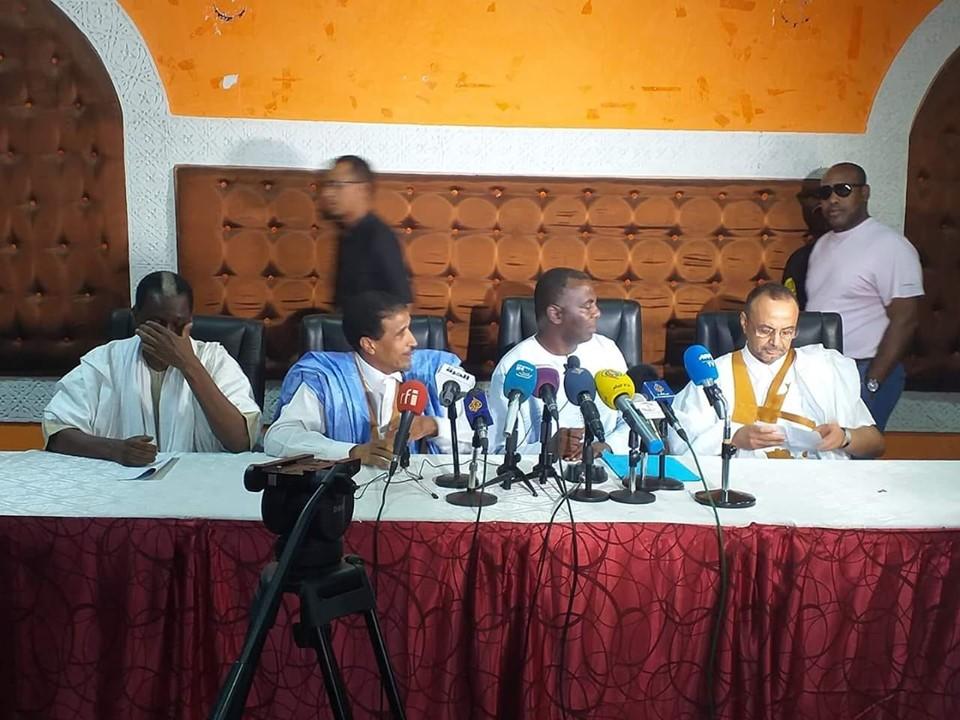 صورة عاجل :المترشحون الأربعة يعلنون رفض نتائج الانتخابات و يتحدثون عن خروقات واسعه (تفاصيل  )
