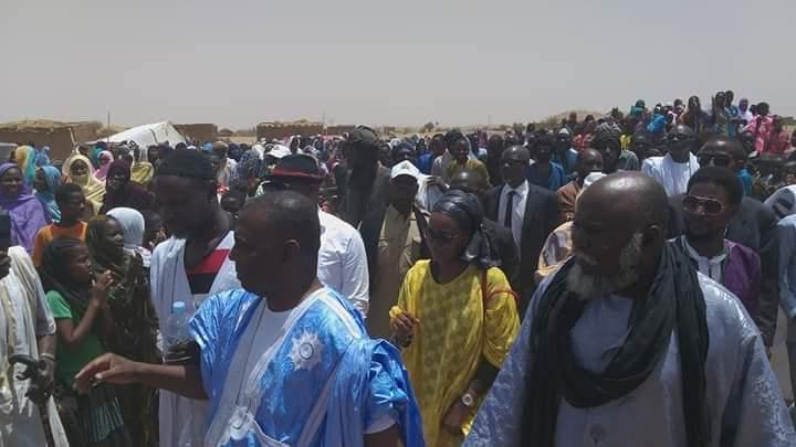 صورة كيدي ماغا :استقبلات شعبية واسعة للمرشح بيرام الداه إعبيد (صور )
