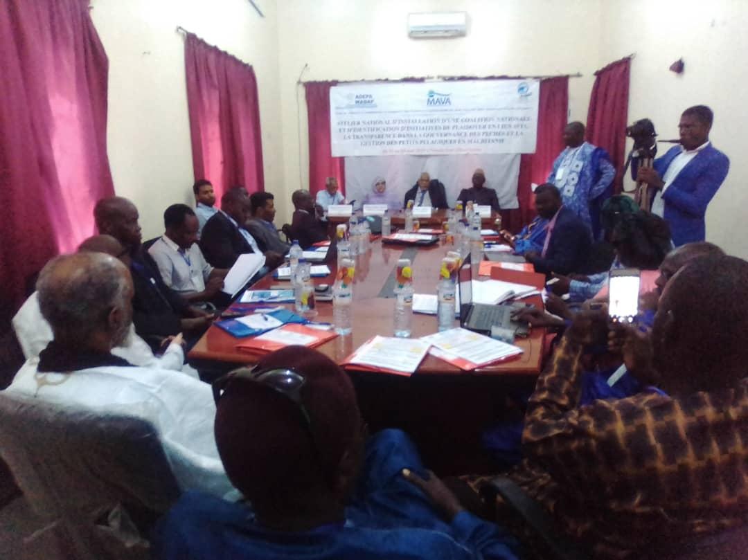 صورة L'Association Ouest Africaine pour le Développement de la Pêche Artisanale (ADEPA) organise du 02 au 04 mai 2019, un atelier national