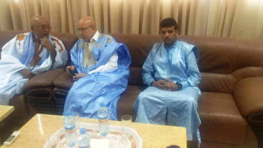 صورة ولد الغزواني يخص منسق الشباب بالشامي بلقاء (صور )