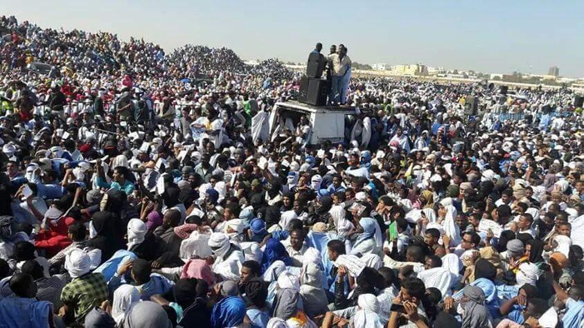 صورة كيف تم اجهاض حراك النصرة للمطالبة بإعدام ولد امخيطير