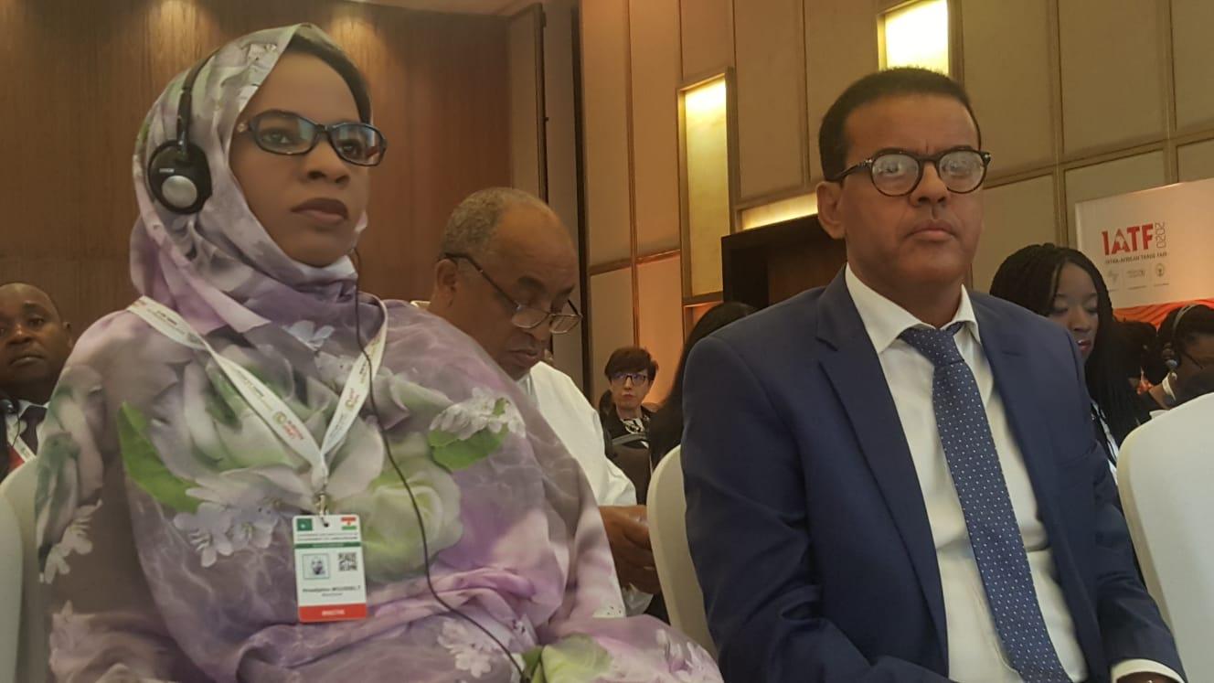 صورة وزيرة التجارة والصناعة والسياحة تشارك في أعمال المنتدى الاقتصادي الإفريقي