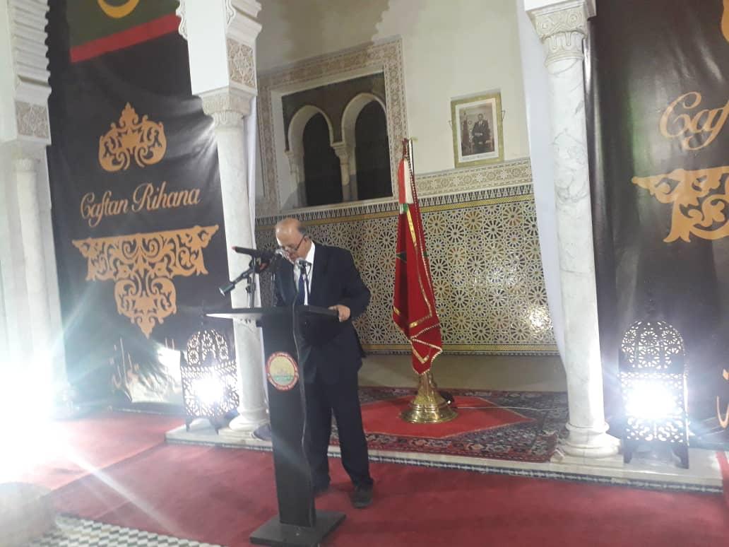صورة الثقافي المغربي ينظم حفل عرض أزياء للقفطان المغربي والملحفة المويتانية (صور )