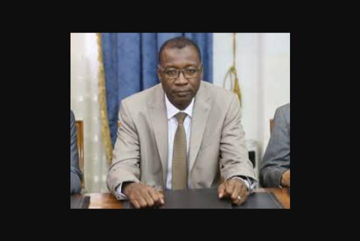 """صورة تمثيل """"اجمان""""في تنفيذي الحزب الحاكم عن طريق إختيار الوزير : سيدأحمد ولد محمود"""