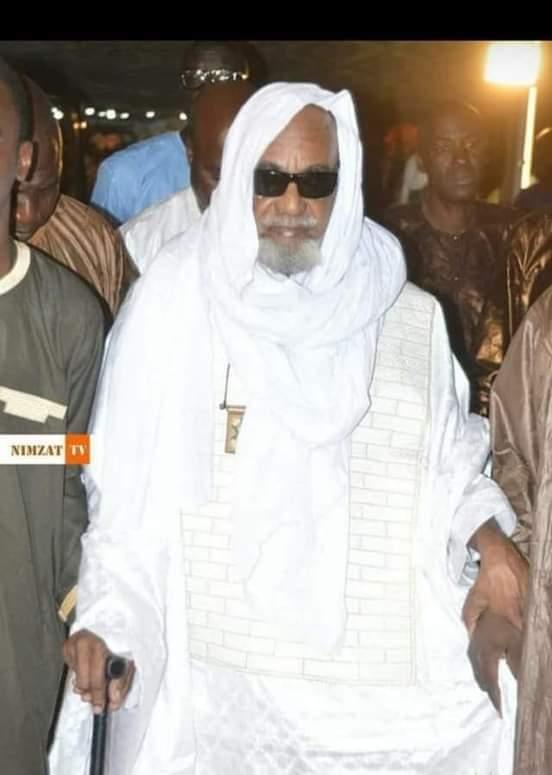 صورة وفاة الوالد الشيخ سعدبوه ولد الشيخ سيداتي والراية تعزي (تعزية)