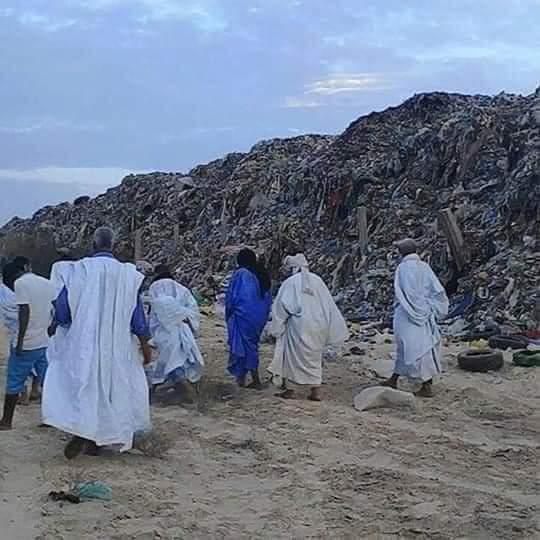 صورة مكب النفايات بتفيريت يعود إلى الواجهة من جديد (بيان)