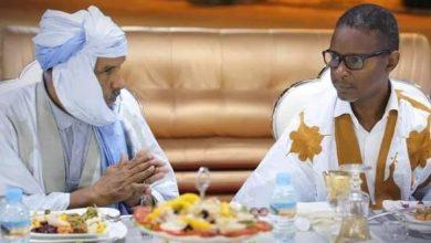 صورة إلى الوزير الأول  : محمد ولد بلال