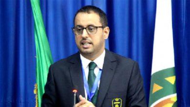 صورة الرئيس ولد يحي : ممتنون لرئيس الجمهورية بعد تدشين ملعب نواذيبو (بيان)
