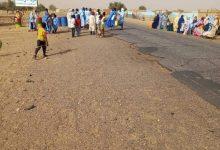 صورة لبراكنه : سكان قرية دار السلام يعانون موجة عطش (صور)