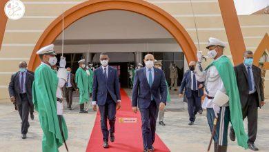 صورة زيارة خارجية لرئيس الجمهورية